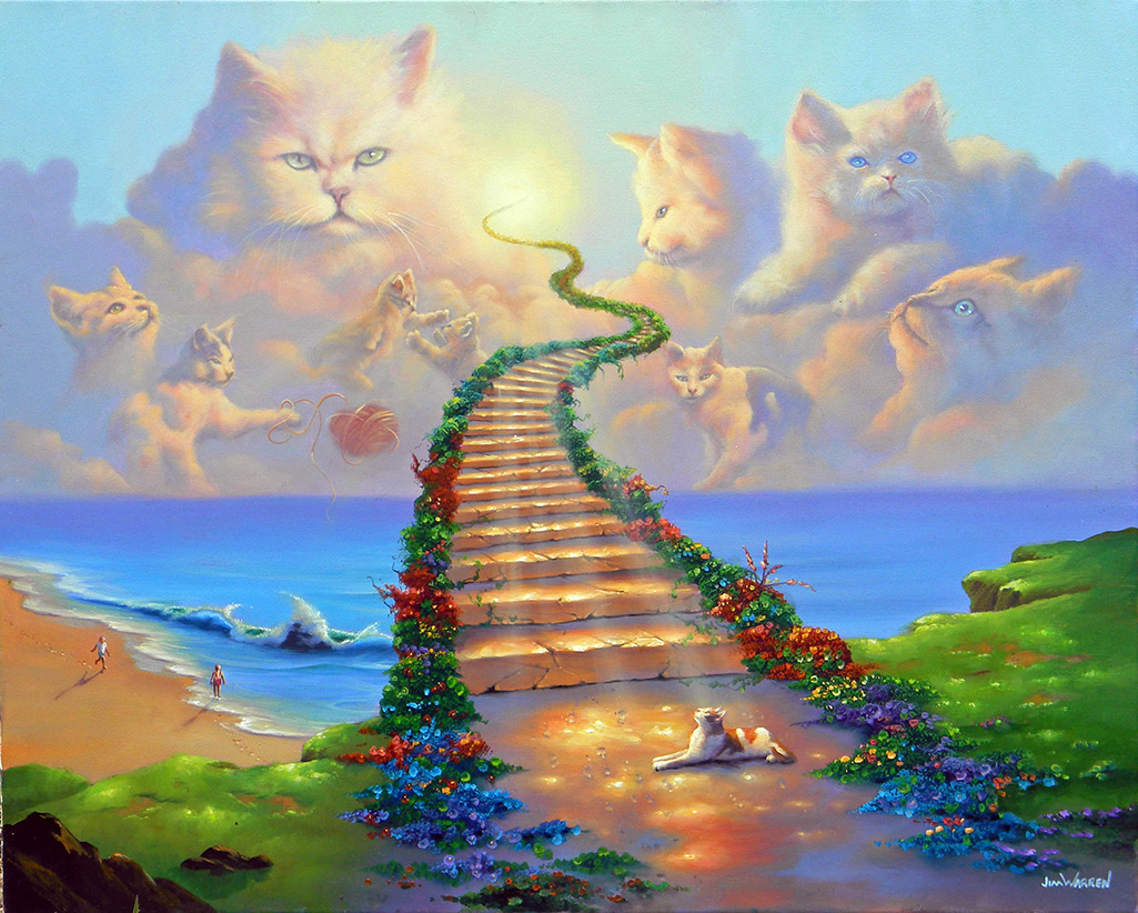All Cats Go To Heaven, by Jim Warren